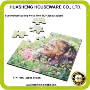 3mm Hardboard Puzzle with Free Samples