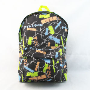 Colorful Wording Print Back to School Backpack pictures & photos