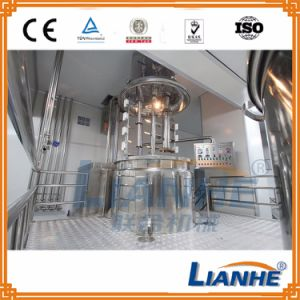 Cream Mixing Equipment Toothpaste Making Machine with Vacuum Homogenizer pictures & photos