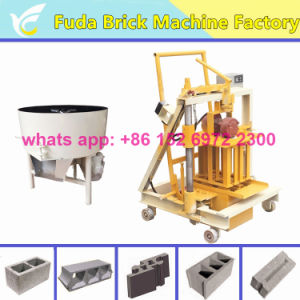Good Quality Mini Movable Concrete Egg Laying Hollow Block Machine pictures & photos