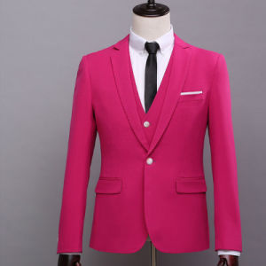 New Arrival Bespoke Wedding Suit for Men of Wool pictures & photos