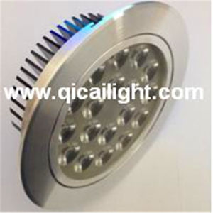 15X1w White+Black Shell LED Downlight pictures & photos