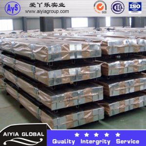 PPGI Color Coated Corrugated Roof Sheet with T Tiles pictures & photos