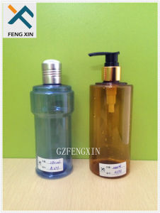 Personal Care Industrial Use Shampoo Container Travel Pet Plastic Bottle with Lotion Pump pictures & photos