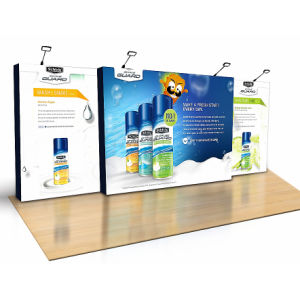 Double Side Pop up Printed Graphic Full Color Spotlight Display Banners pictures & photos
