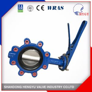 12 Inch Lug Type Flange Butterfly Valve pictures & photos