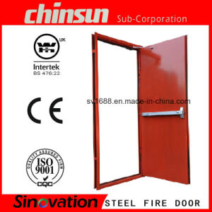 Low Price 2.0h (120MINS) Fire Door Fire Exit Door with BS and UL Certificate pictures & photos