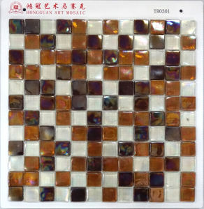 Bathroom Tile Factory Make Glass Mosaic pictures & photos