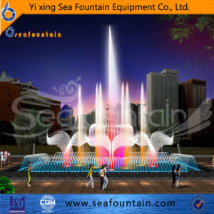 Custom Made Stainless Steel Multimedia Music Fountain pictures & photos