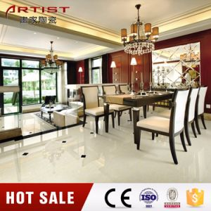 Crystal Double Loading White Polished Porcelain Tile pictures & photos