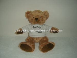 Stuffted Teddy Bear with Red T-Shirt pictures & photos