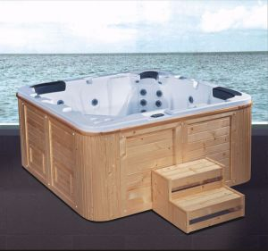 2000mm Outdoor SPA for 5 People with Steps (AT-8803) pictures & photos