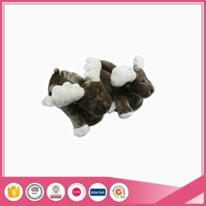 Christmas Deer Style Indoor Animal Slipper pictures & photos