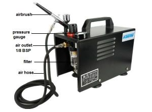 As18ak 2016 Very Popular Product Mini Air Compressor and Make up Airbrush pictures & photos