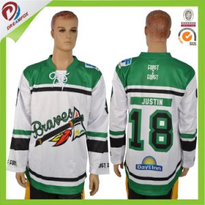 Dreamfox Sports Hot Dye-Sublimation Printing Custom Ice Hockey Wear pictures & photos