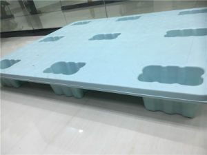 Plastic Injection Cargo Pallet/Can Loading 1-1.5tons Plastic Pallet/Custom Plastic Pallet/Very Low Cost Pallet/Long Time Using Pallet/Cargo Loading Tray pictures & photos