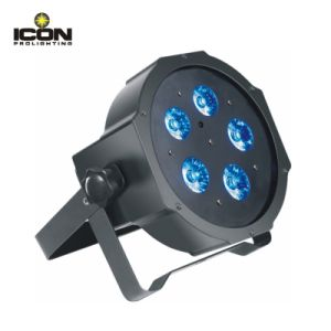 Slim 5X10W 4in1 LED Mega Flat PAR pictures & photos