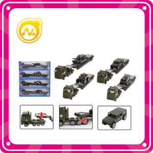 Cool Boy Alloy Car Military Vehicles Toy Alloy Trailer Toy pictures & photos
