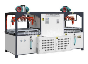 Semi-Automatic Plastic Vacuum Forming Blow Moulding Machine for Luggage pictures & photos