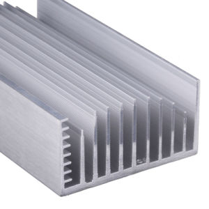 Customized Aluminium/Aluminum Heatsink CNC Machining (ISO9001: 2008 certificated) pictures & photos