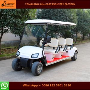 Good Quality 6 Seats Street Legal Electric Golf Cart pictures & photos