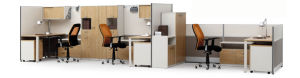 Modern Aluminum Glass Wooden Office Partition/Workstation (NS-NW009) pictures & photos