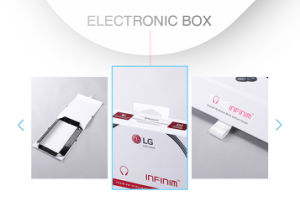 Convenient Clamshell Cardboard Electronic Digital Headset Packaging Box pictures & photos