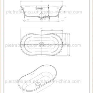 New Model Bathroom Table Top Basin (PB2084) pictures & photos