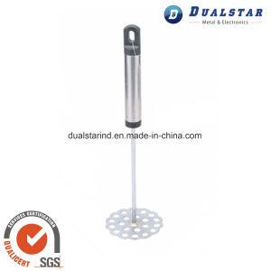 Steel Handle Plum Shape Potato Press pictures & photos