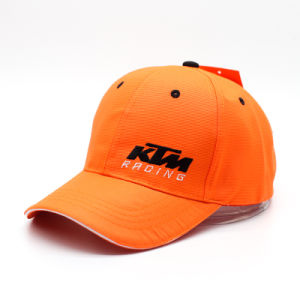 Orange Sporting Racing Hats/Sport Cap with High Quality (ASC08) pictures & photos