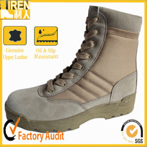 Penetration Resistance Nylon Tactical Army Desert Boots pictures & photos