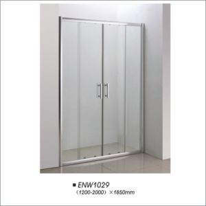 Tempered Glass Sliding Shower Screen for Middle East pictures & photos