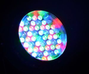 IP65 Waterproof LED PAR Can Lights 54PCS X 3W Rgbwy+UV 6-in-1 with Zoom