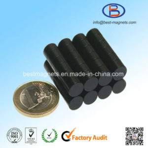 Direct Factory of Black Epoxy Coating Permanent Disc Neodymium Super Strong Magnets pictures & photos