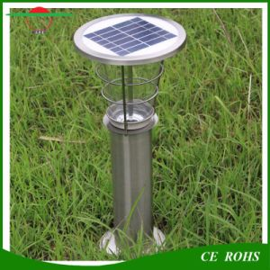 Outdoor Durable Aluminum 2W Waterproof Wireless Solar Garden Lawn Light IP65 Lanscape Solar Lamp for Yard Villa pictures & photos