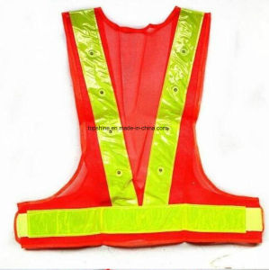High Visibility LED Reflective Safety Vest pictures & photos