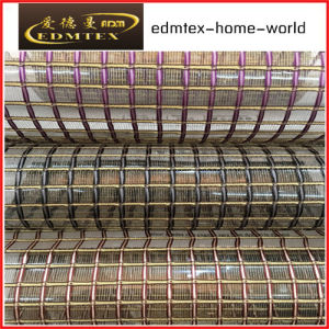 Fashion Embroidered Organza Curtain Fabric EDM-TH705