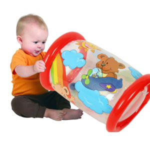 up in & Over Red Color PVC Inflatable Baby Steps Roller pictures & photos