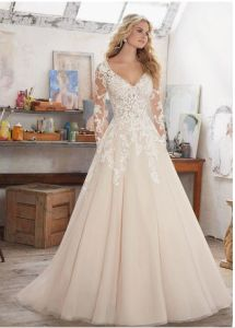 2017 Long Lace Sleeve Bridal Wedding Dresses Ctdwd1710 pictures & photos