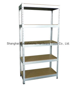 Galvanized Metal Storage Shelving Unit (9040-175) pictures & photos