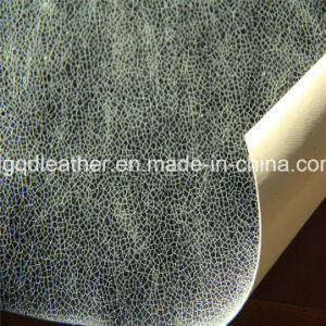 Double-Sided PU Shoes Leather (QDL-SP021) pictures & photos