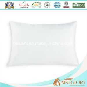 Anti-Allergy Pure Cotton Cover Rectangle Duck Down Feather Pillow pictures & photos