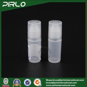 3ml Translucid Color Plastic Roll on Bottle Empty PP Plastic Cosmetic Deodorant Roll on Bottle Essential Oil Roll on Bottles pictures & photos
