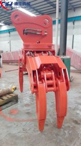 Hydraulic Grapple for Wood and Stone with Ex1200 pictures & photos