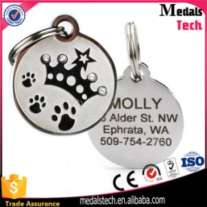 Custom Engraved Souvenir Dog Tag Wholesale with Rubber pictures & photos