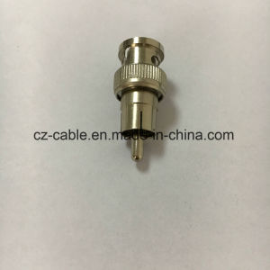 RF Connector, BNC Male to RCA Male Connector pictures & photos