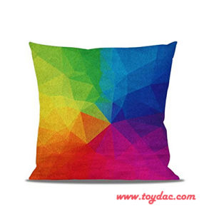Digital Printed Home Textile Rainbow Cushion pictures & photos