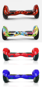 Smartek 10 Inch Electric Hiphop Graffiti Scooter Gyroskuter S-002-CN pictures & photos