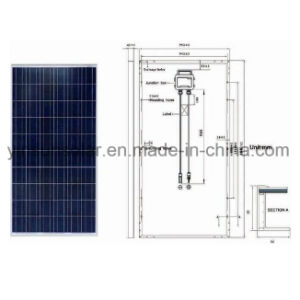 250W Solar Module Solar Panel of Polycrystal pictures & photos