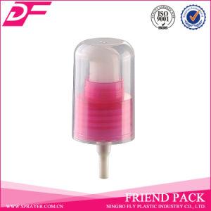 Smooth Plastic Cream Pump Dispenser with Transparent Head Cap pictures & photos